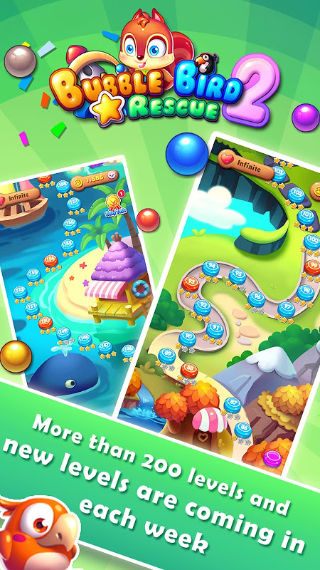 Android Bubble Bird Rescue 2 - Shoot! Screen 10