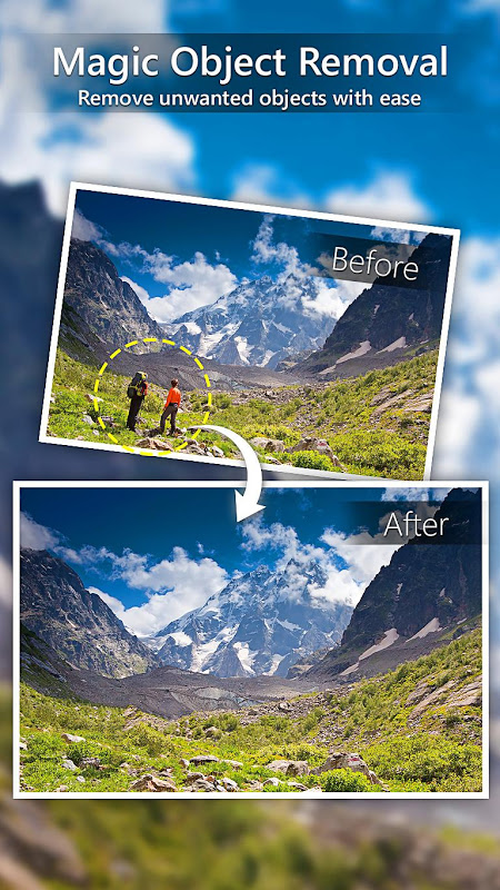 Android PhotoDirector Photo Editor App Screen 1