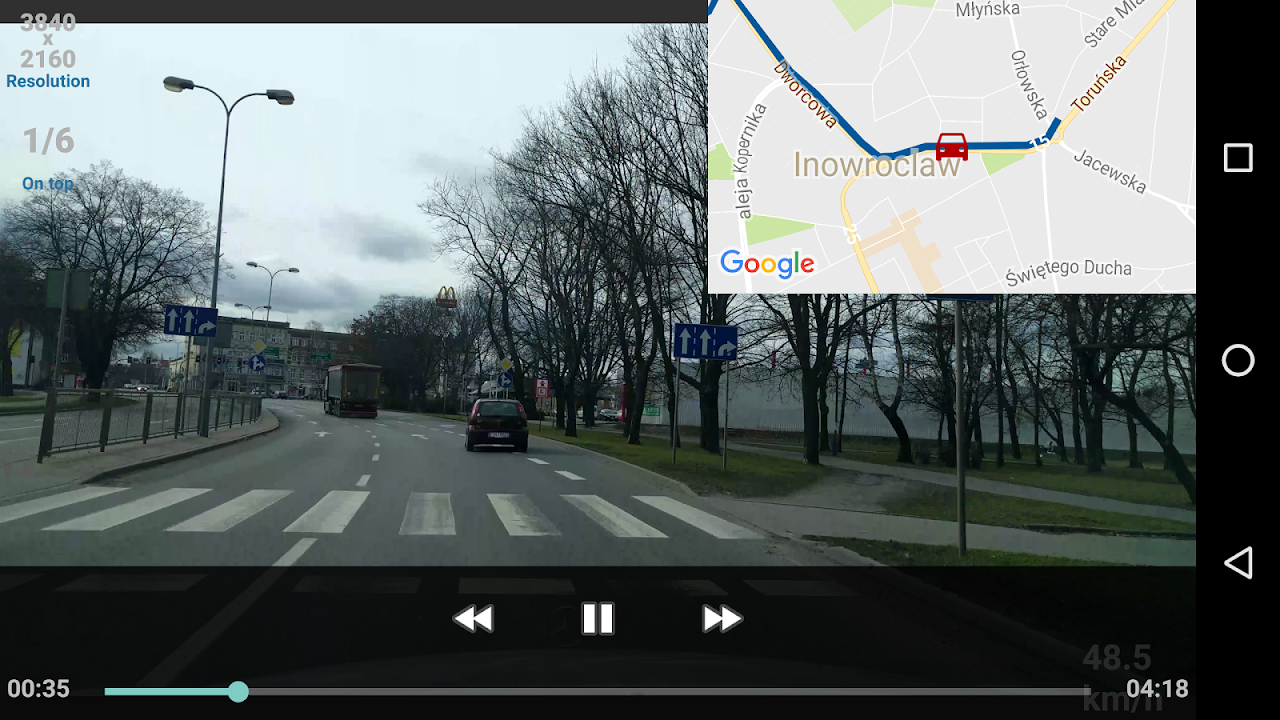 Android Car Camera Screen 7
