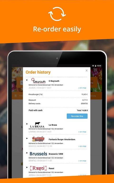 Takeaway.com - Belgium 4.22.2 Screen 7