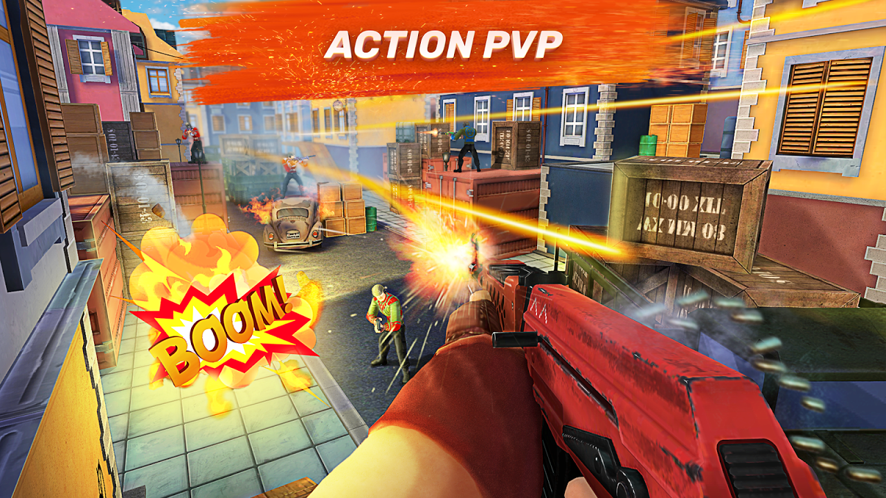 Android Guns of Boom - Online Shooter Screen 1