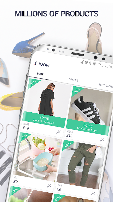 Joom. World's lowest prices 2.27.0 Screen 2