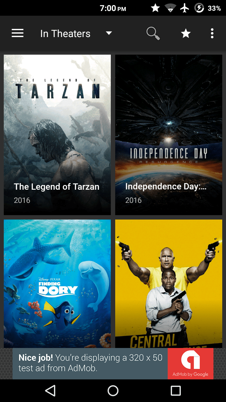 Android Terrarium TV - Watch All Free HD Movies and TV Shows Screen 1