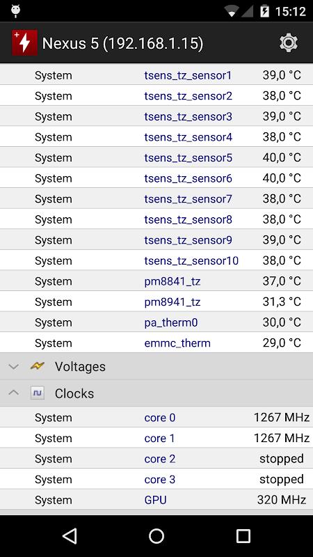 HWMonitor PRO 1.08 Screen 1