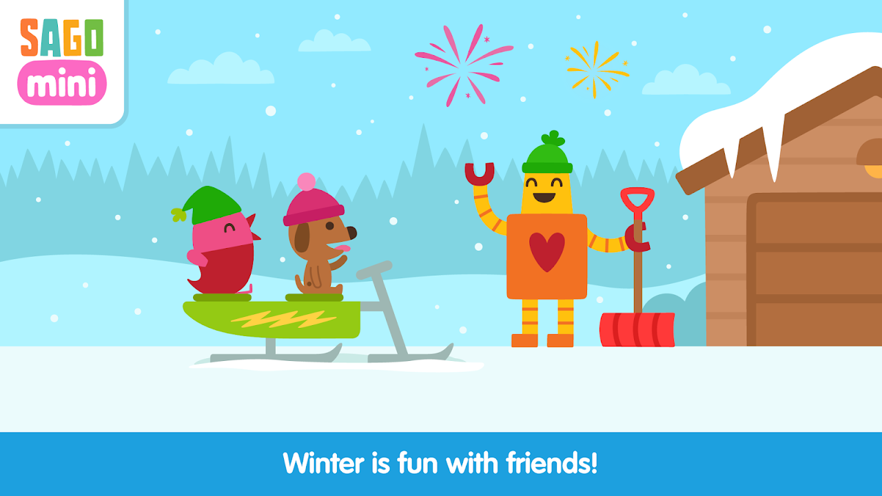 Android Sago Mini Snow Day Screen 4