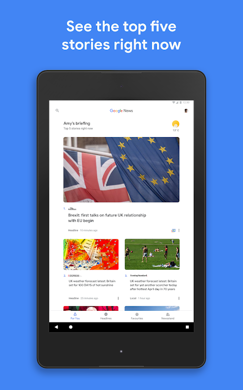 Android Google Play Newsstand Screen 5