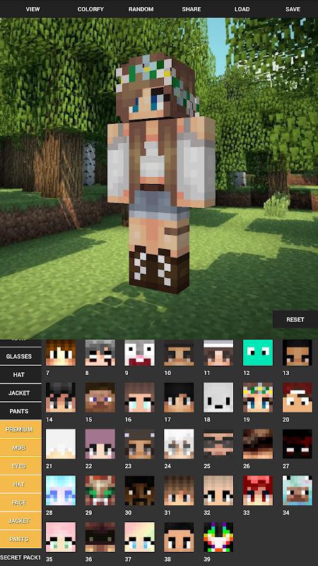 Custom Skin Creator For Minecraft 5.6 Screen 7