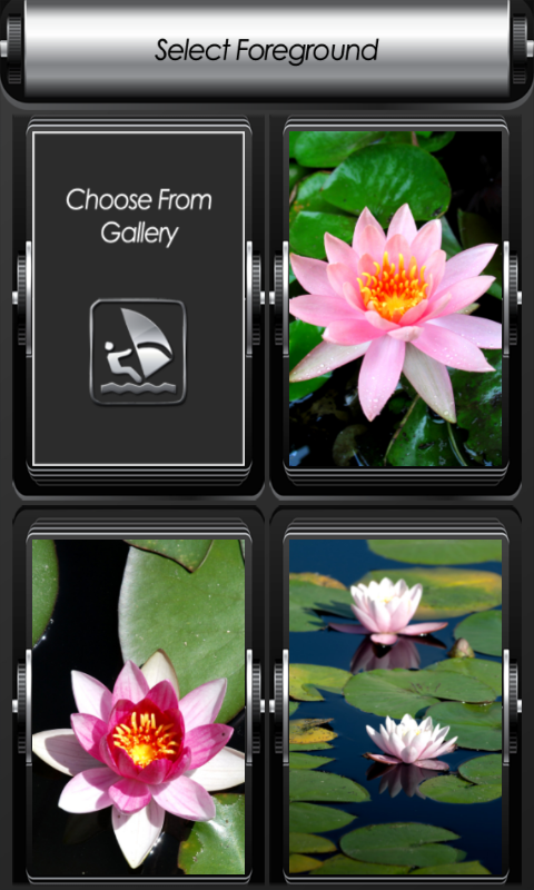Android Lotus Zipper Lock Screen Screen 2
