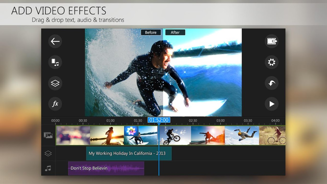 PowerDirector Video Editor App: 4K, Slow Mo & More 4.15.0 Screen 2
