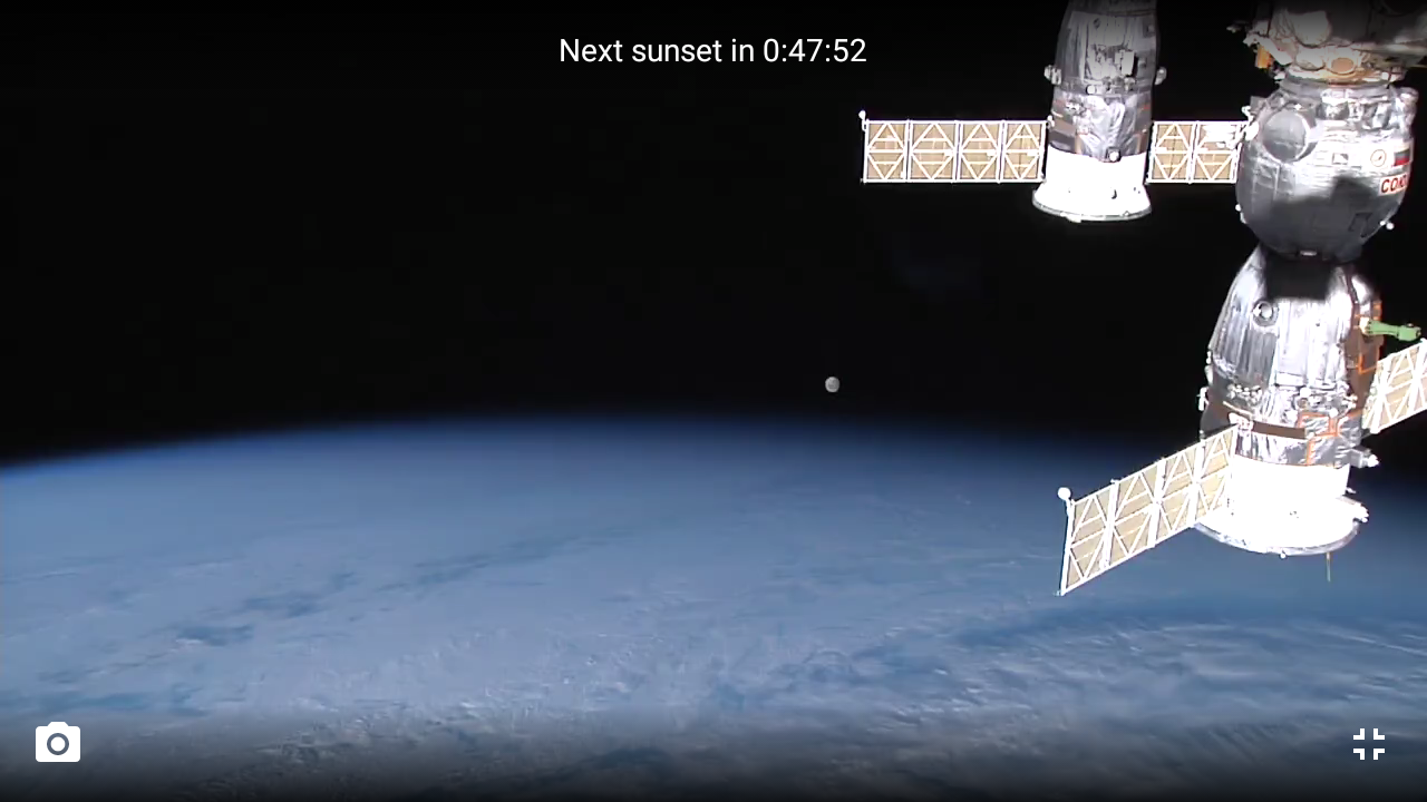 ISS HD Live: View Earth Live 5.4.3 Screen 3