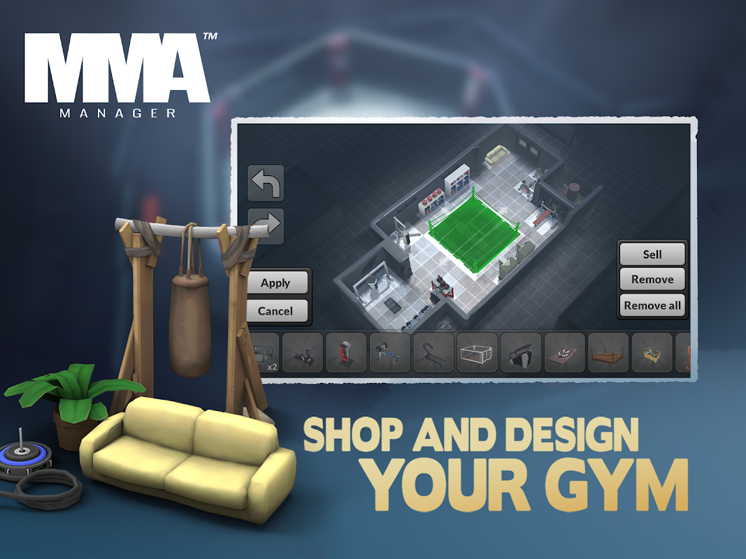 MMA Manager 0.8.4 Screen 21
