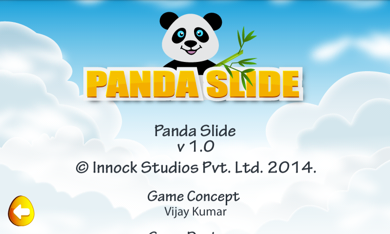 Android Panda Slide Screen 9