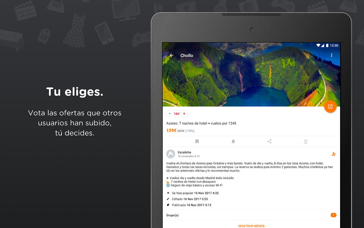 Chollometro – Chollos, ofertas y juegos gratis 5.7.07 Screen 13