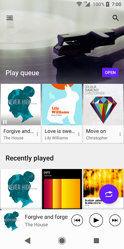 Android Music Screen 3