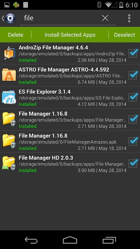 Installer Pro 3.4.2 Screen 4