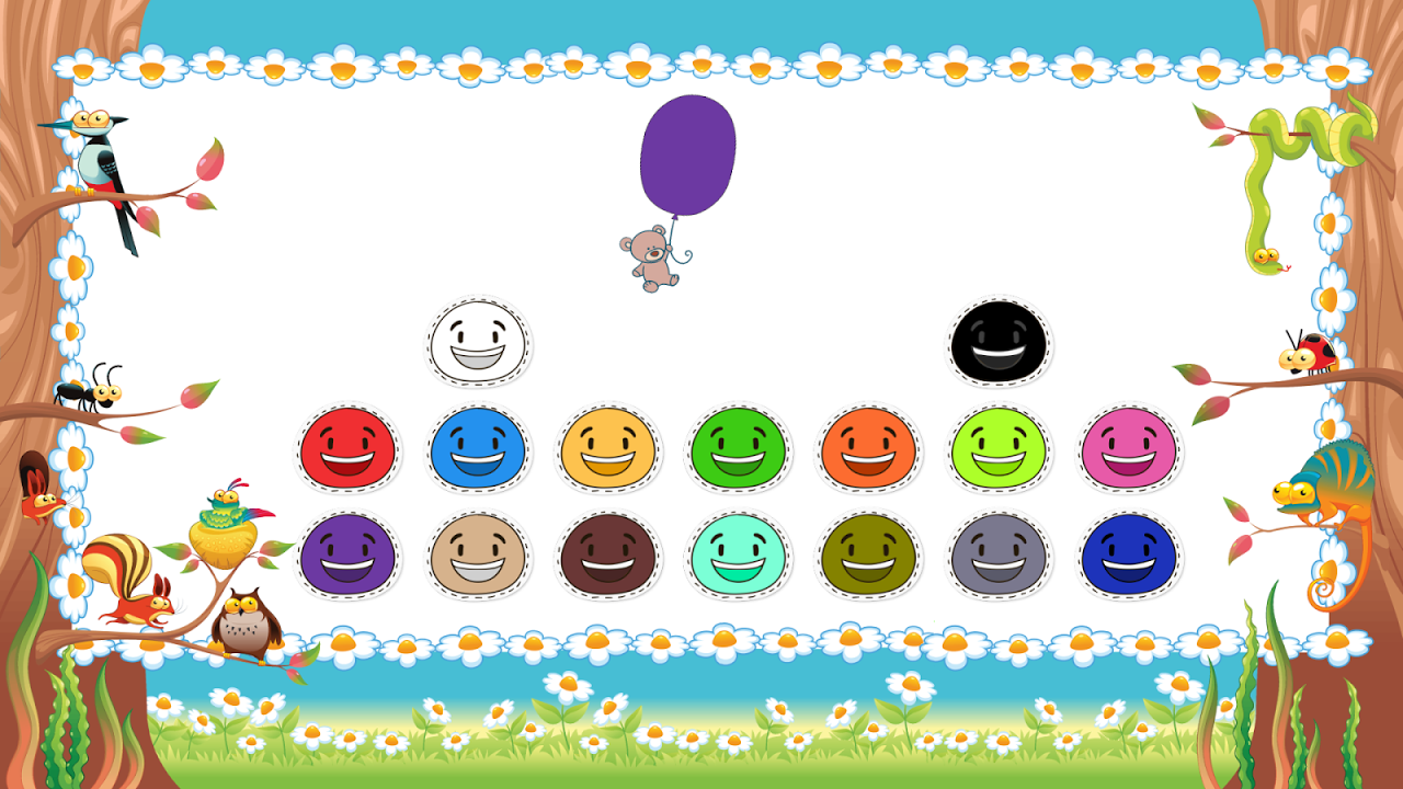 Android Toddler Colors Learning - Kids Educational Game Screen 4