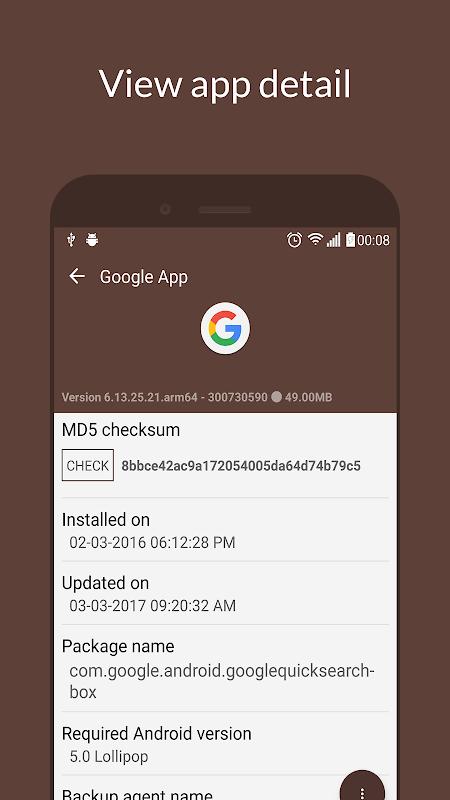 My APK 2.3.8.4 Screen 4