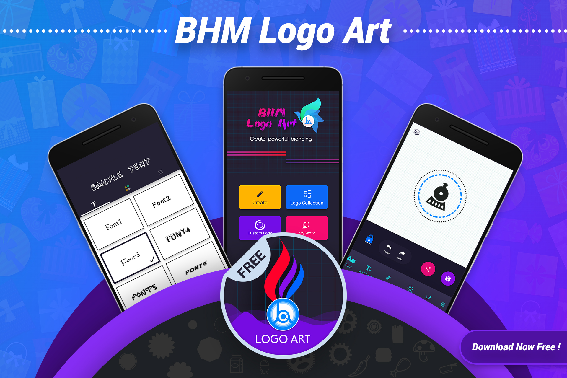 Android Logo Maker & Logo Design Generator Screen 14
