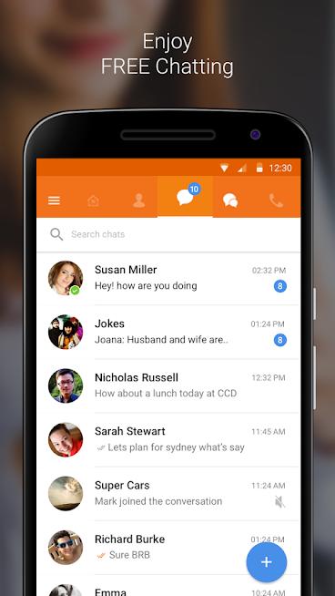 Nimbuzz Messenger / Free Calls 6.0.0 Screen 6