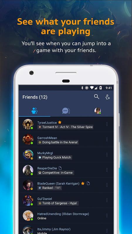 Blizzard Battle.net 1.3.4.69 Screen 1