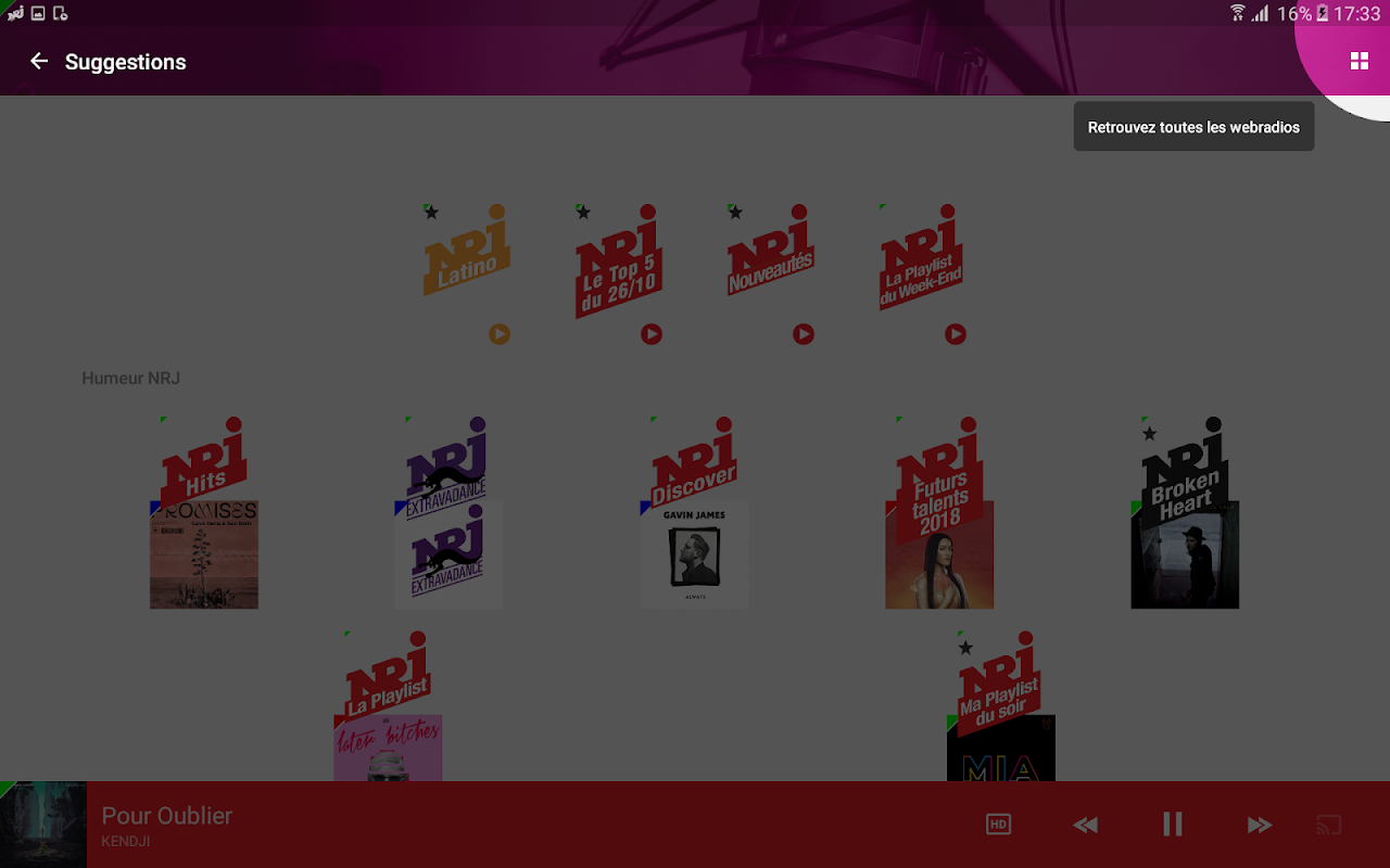 NRJ Radios 4.5.1 Screen 13