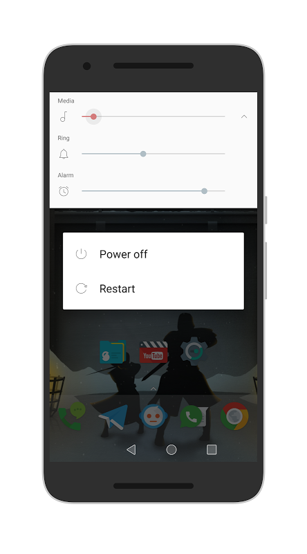 Android [Substratum] Outline Theme (Oreo) Screen 2