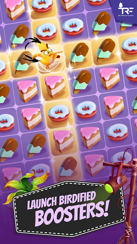 Android Angry Birds Match Screen 17