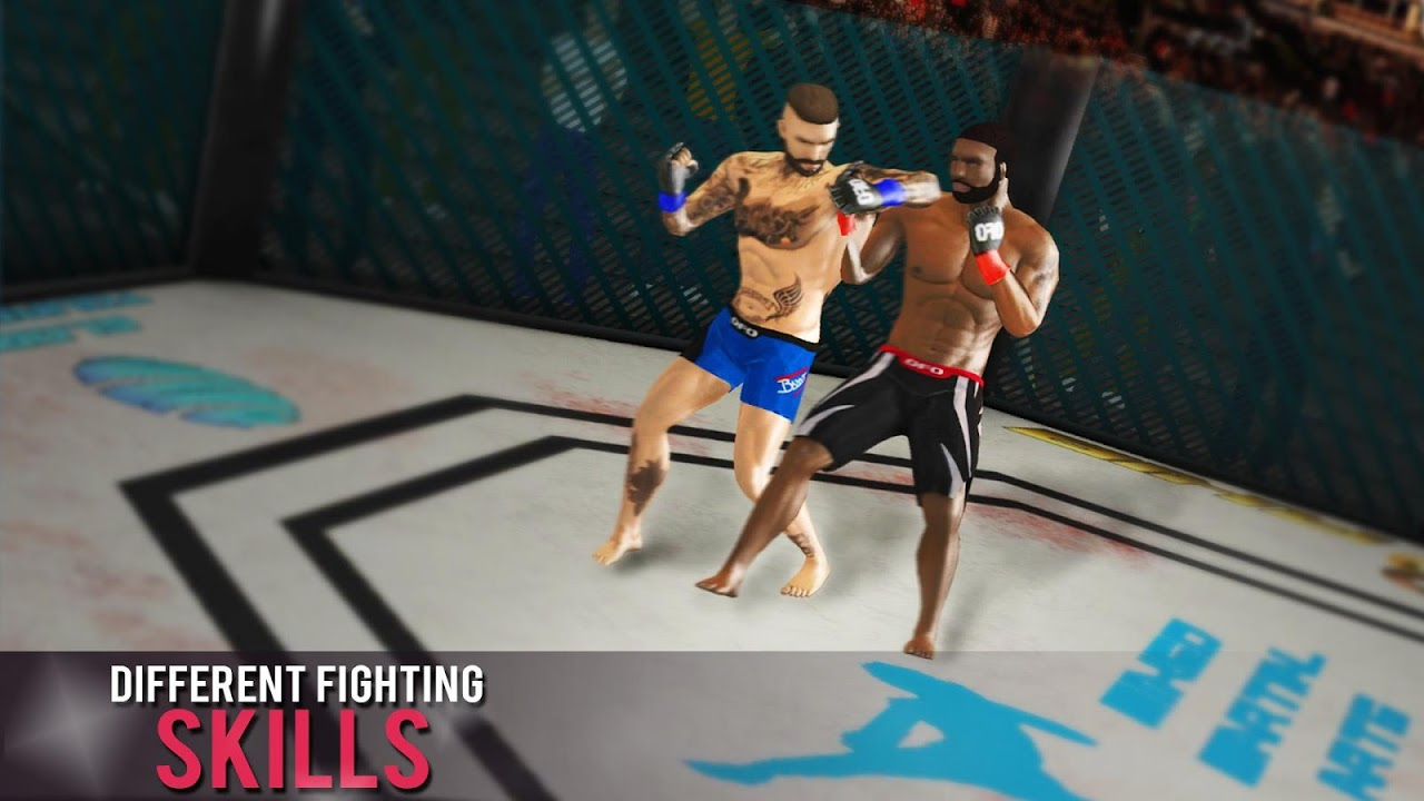 Android MMA Fighting Games Screen 2