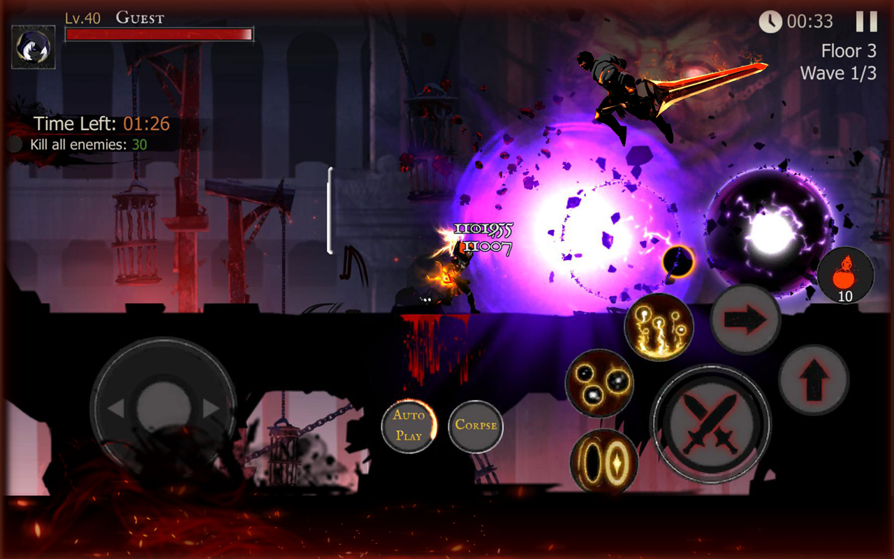 Shadow of Death: Dark Knight - Stickman Fighting 1.42.0.3 Screen 2