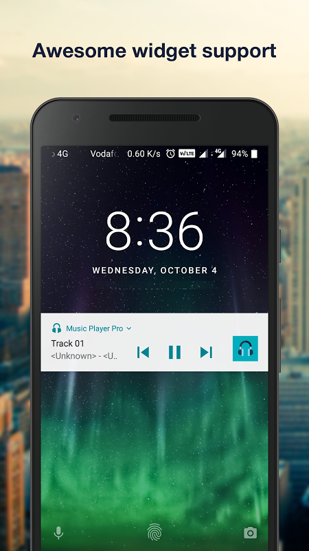 Android Music Player Pro+ Screen 4