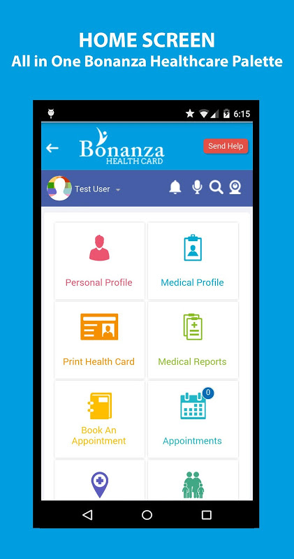 Android Bonanza Health Screen 1
