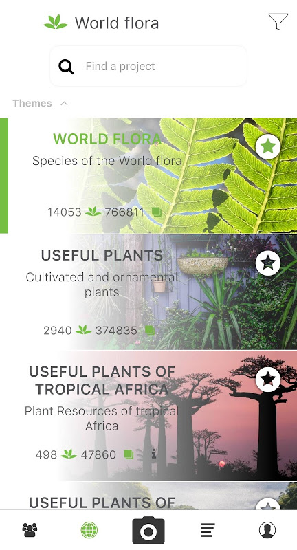 PlantNet Plant Identification 3.0.0 Screen 7