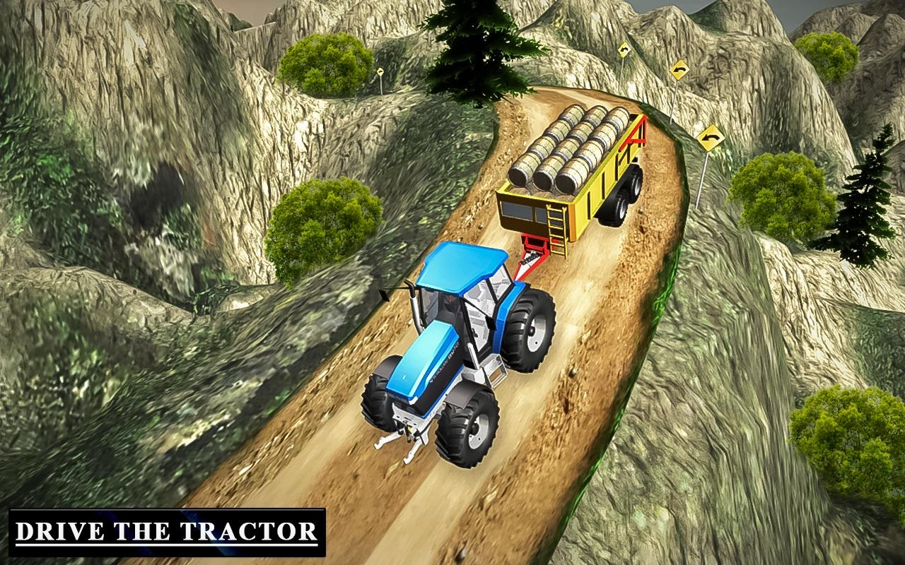 Heavy Tractor Trolley Driver Simulator Game 1.0 Screen 6