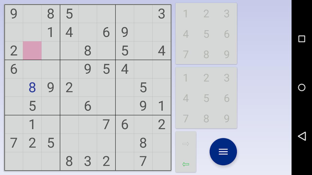 Sudoku: 3 in 1 1.7.3 Screen 7