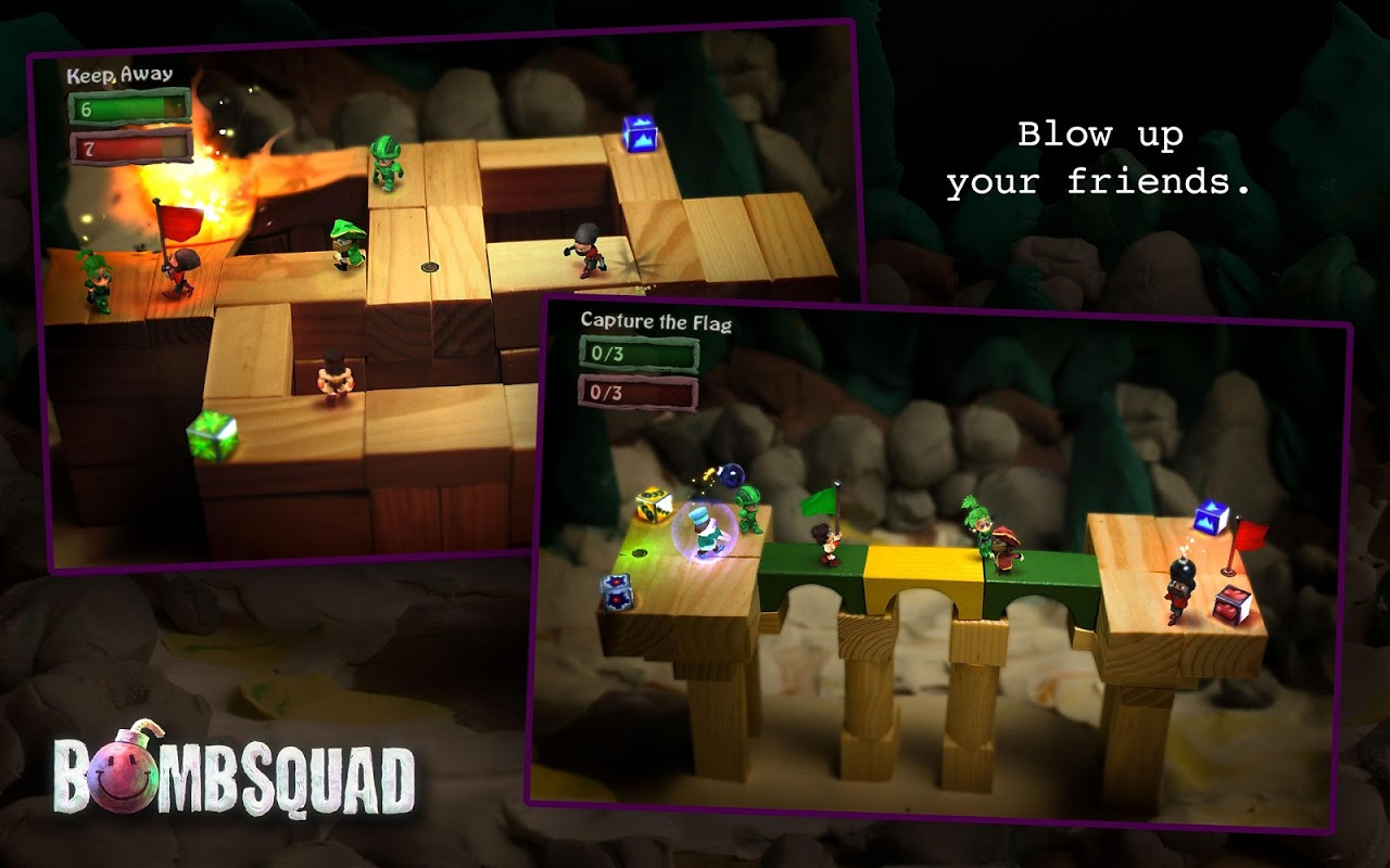 Android BombSquad VR for Cardboard Screen 1