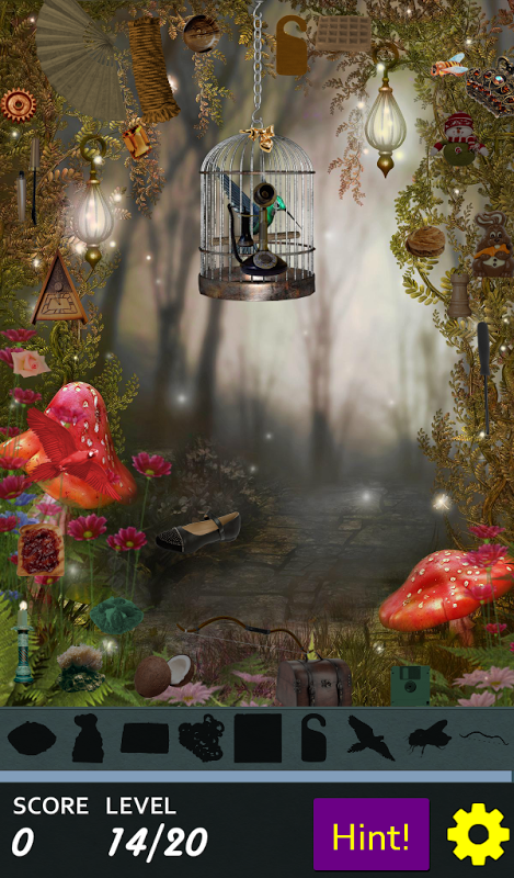 Android Hidden Object - May Flowers Screen 5