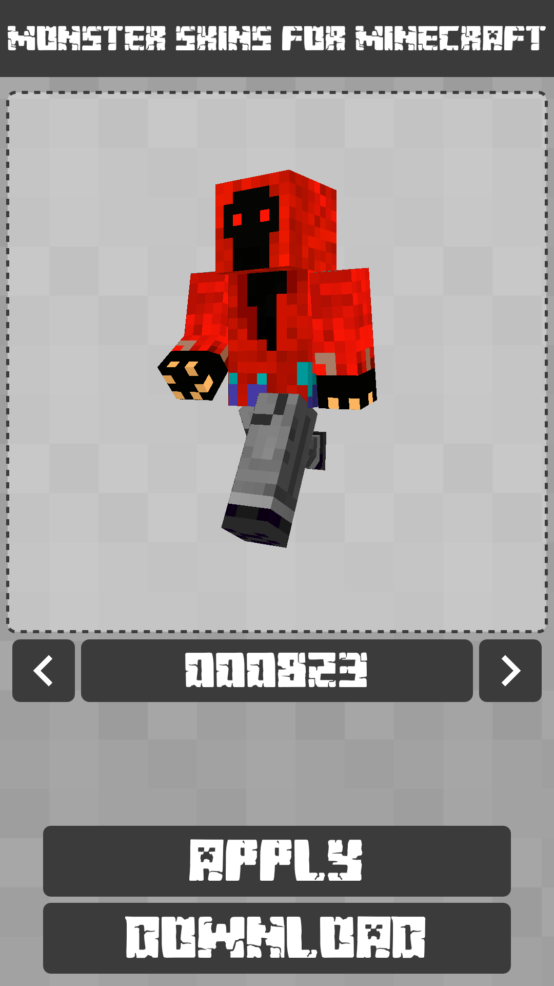 Android Monster Skins for Minecraft PE Screen 6