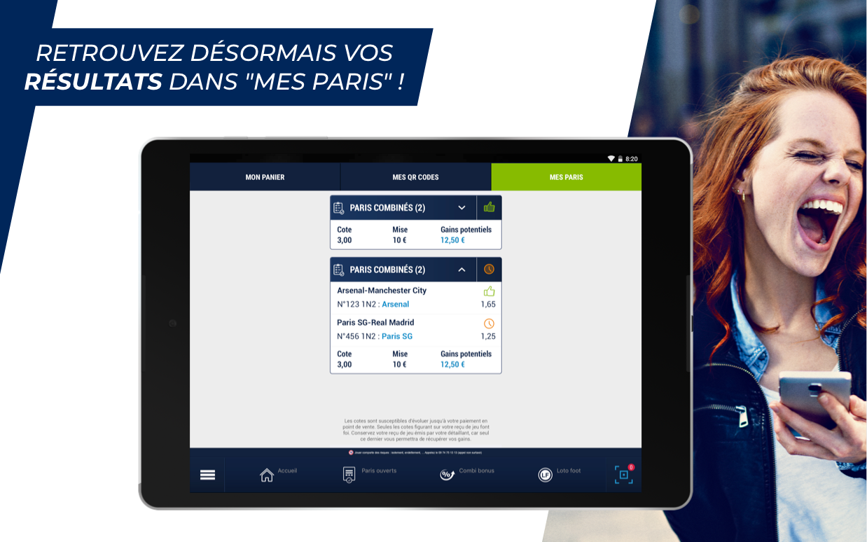 Android ParionsSport Point De Vente® Screen 9