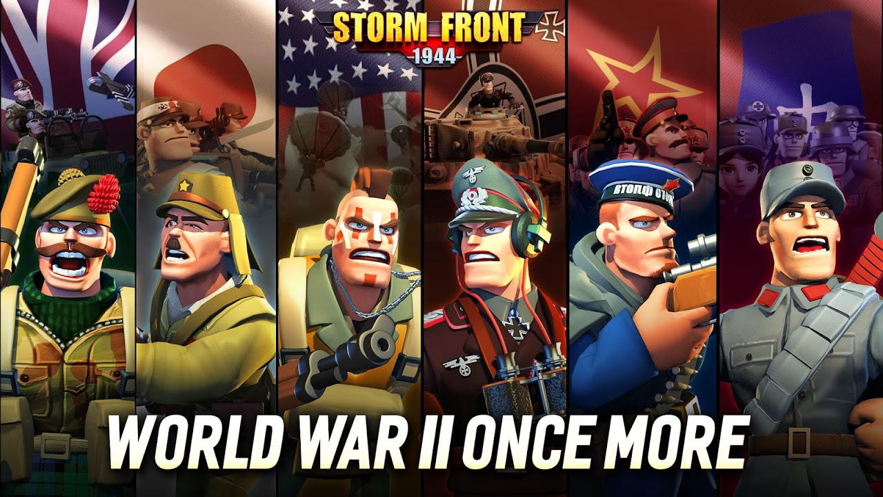 Android StormFront 1944 Screen 9