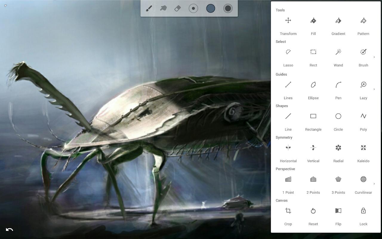 Infinite Painter 6.1.61.1 Screen 12