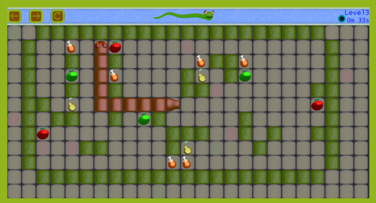Android Snake vs Monsters Screen 3