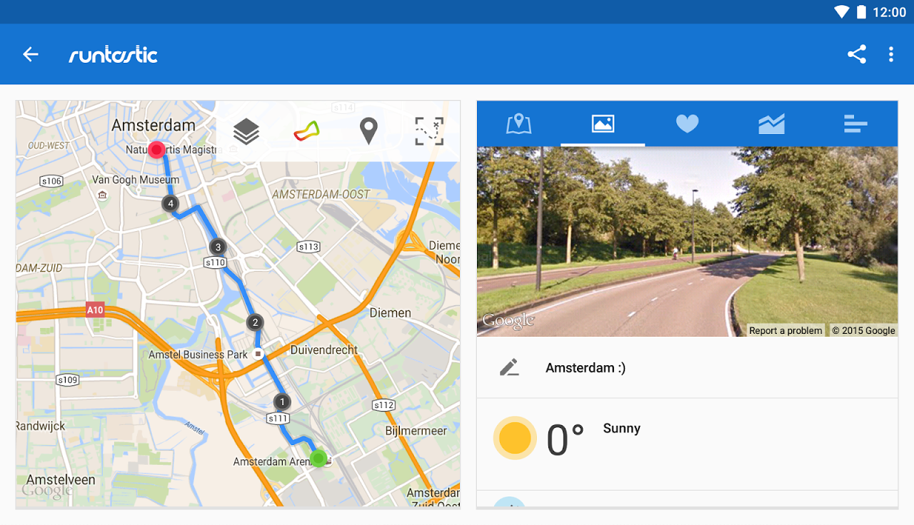 Android Runtastic PRO Running, Fitness Screen 19