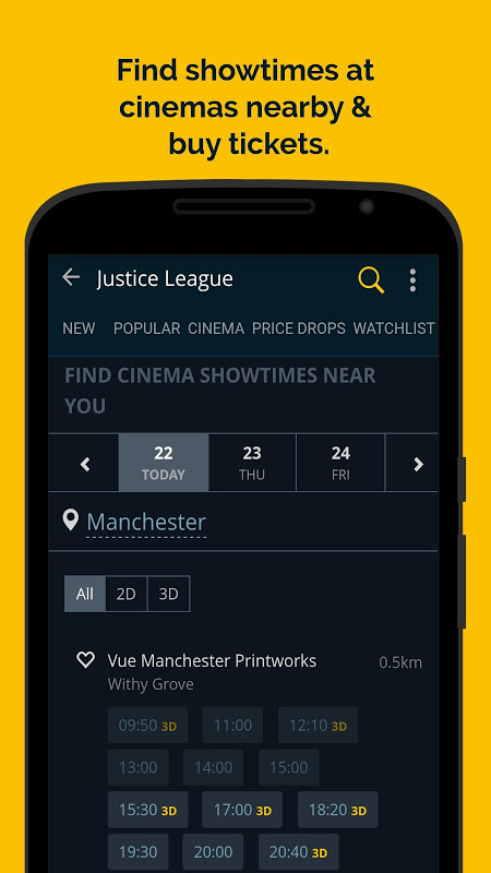 JustWatch - Search Engine for Streaming and Cinema 0.24.58 Screen 2