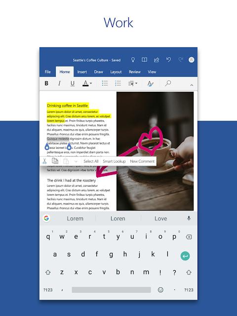 Microsoft Word 16.0.11601.20074 Screen 5