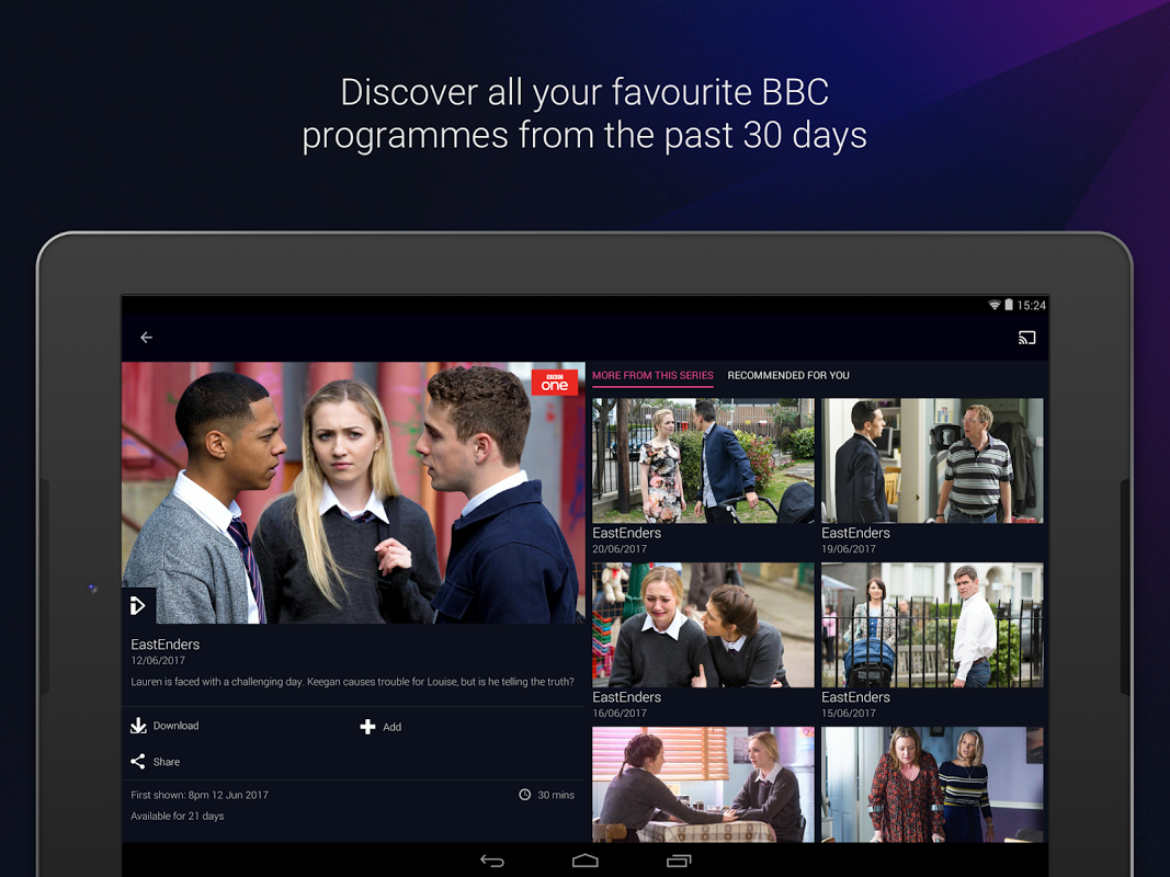 BBC iPlayer 4.38.0.3 Screen 20