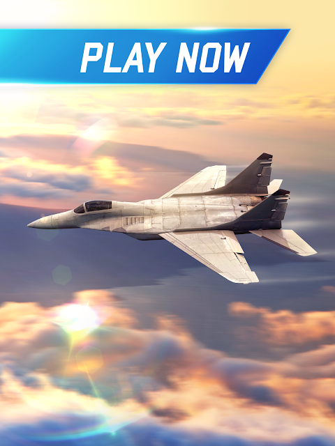 Flight Pilot Simulator 3D Free 1.4.8 Screen 1