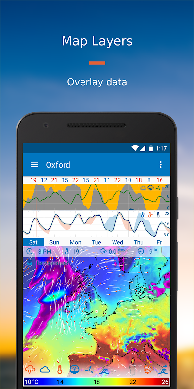 Android Flowx: Weather Map Forecast App Screen 3