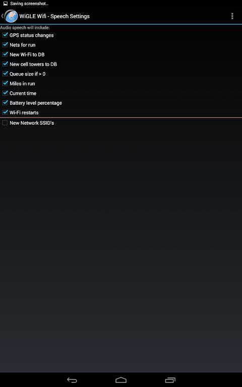 WiGLE WiFi Wardriving 2.39 Screen 13