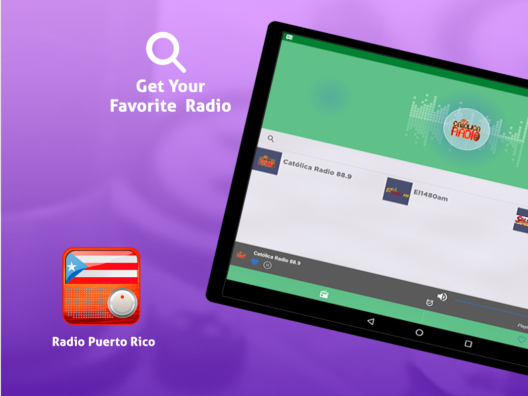 Android Free Puerto Rico Radio AM FM Screen 2