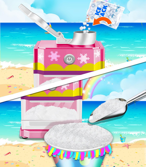 Android Food Maker! Beach Party Screen 1